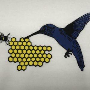 Hummingbird and Honeycomb