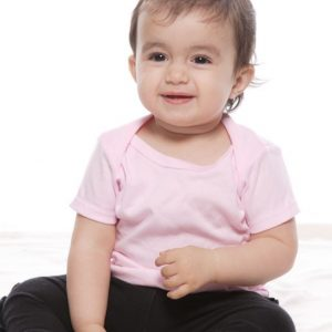 Infant Lapover Tee – Pink