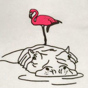 Hippo & Flamingo