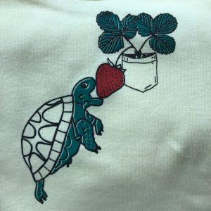 Turtle & Strawberry